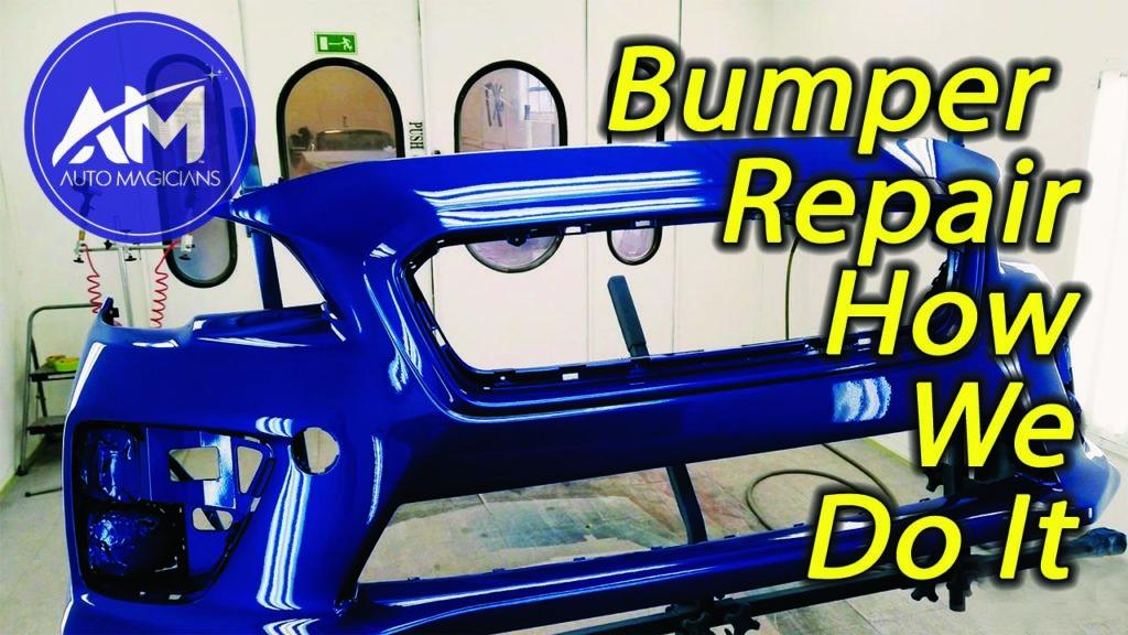 Bumper repair process